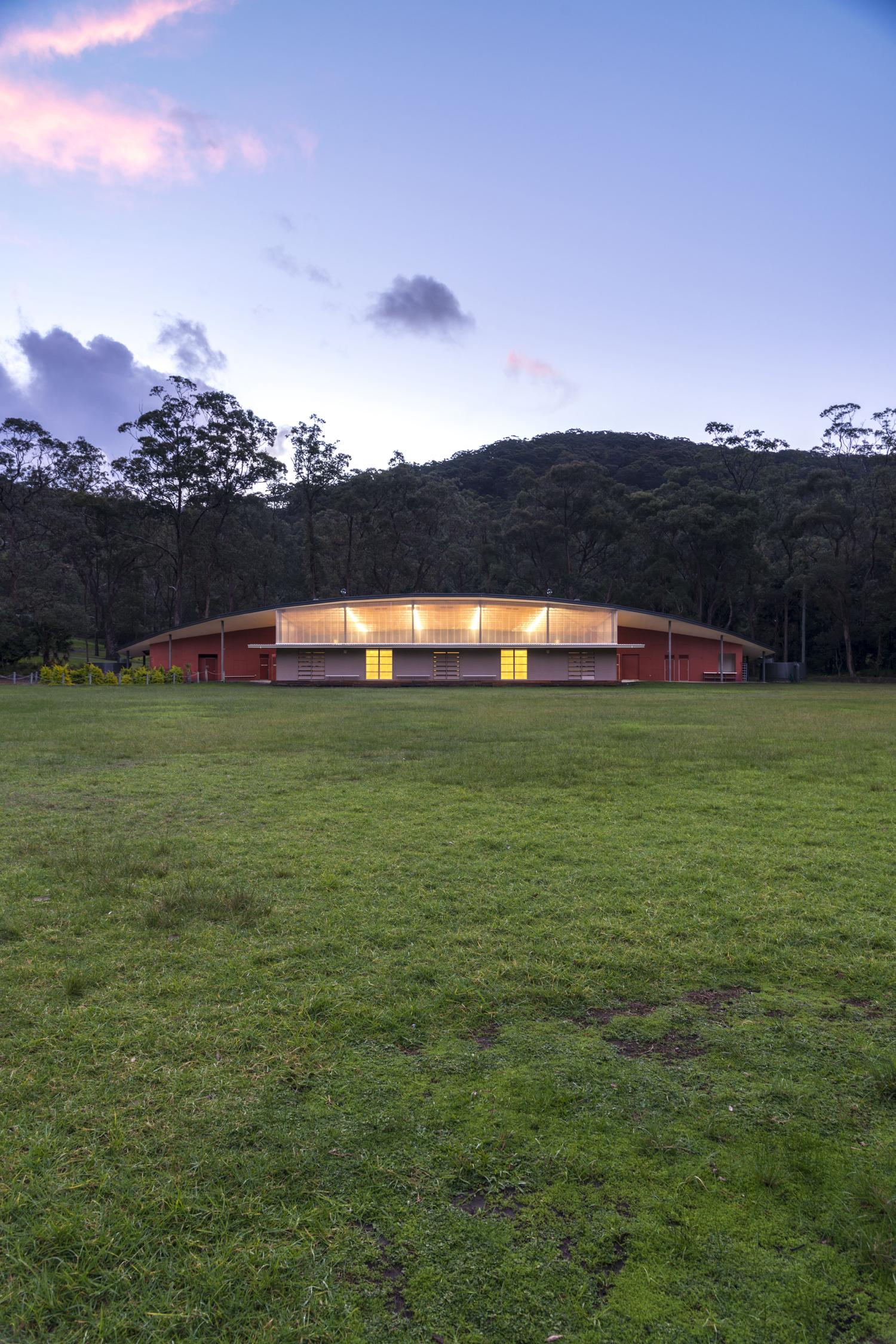 Broken Bay Sports Hall - AJ+C Architects