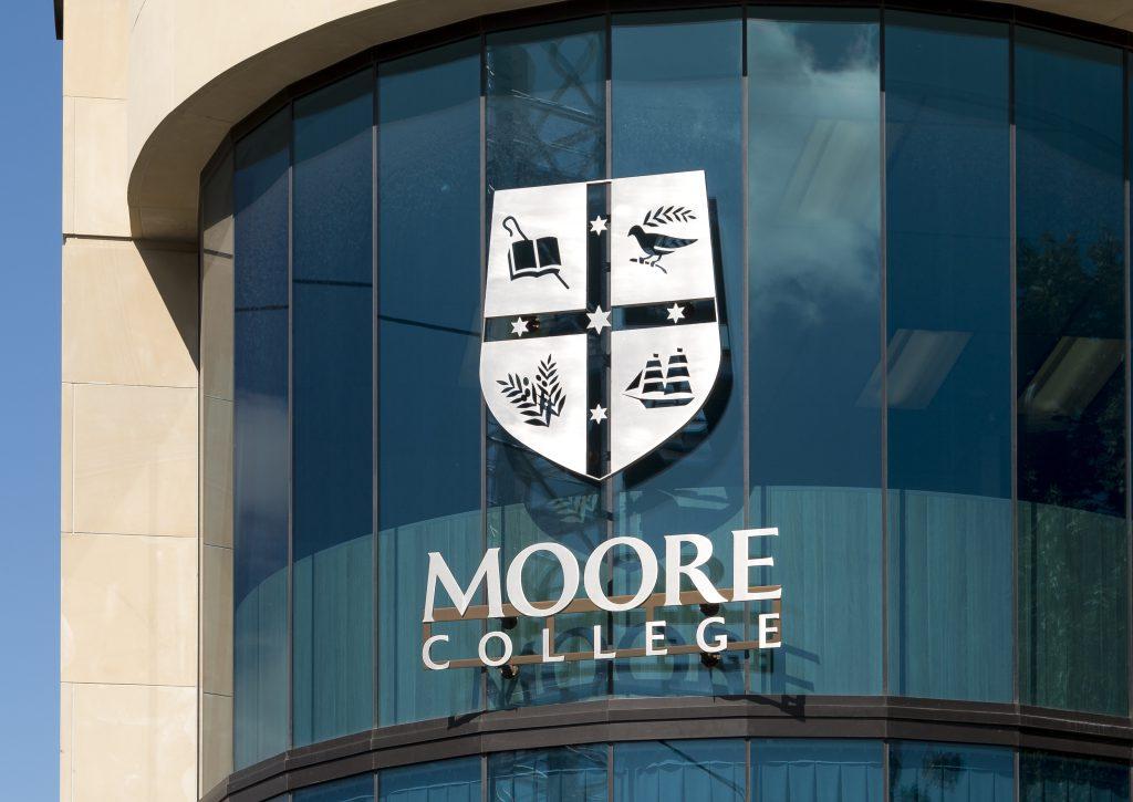 Moore College Signage