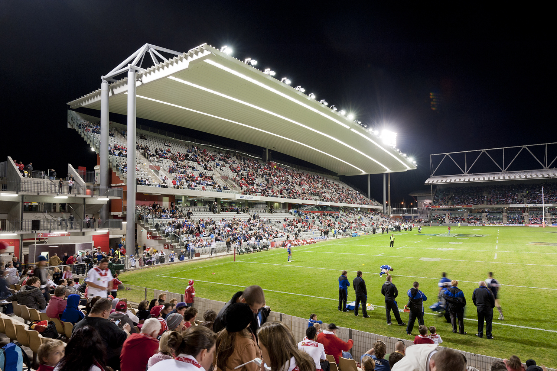 Western Grandstand - WIN Stadium - AJ+C Architects