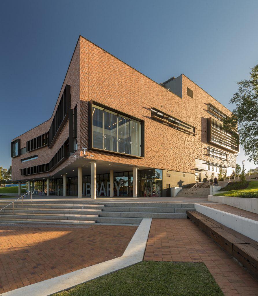 John Phillips Library, Western Sydney University - AJ+C Architects