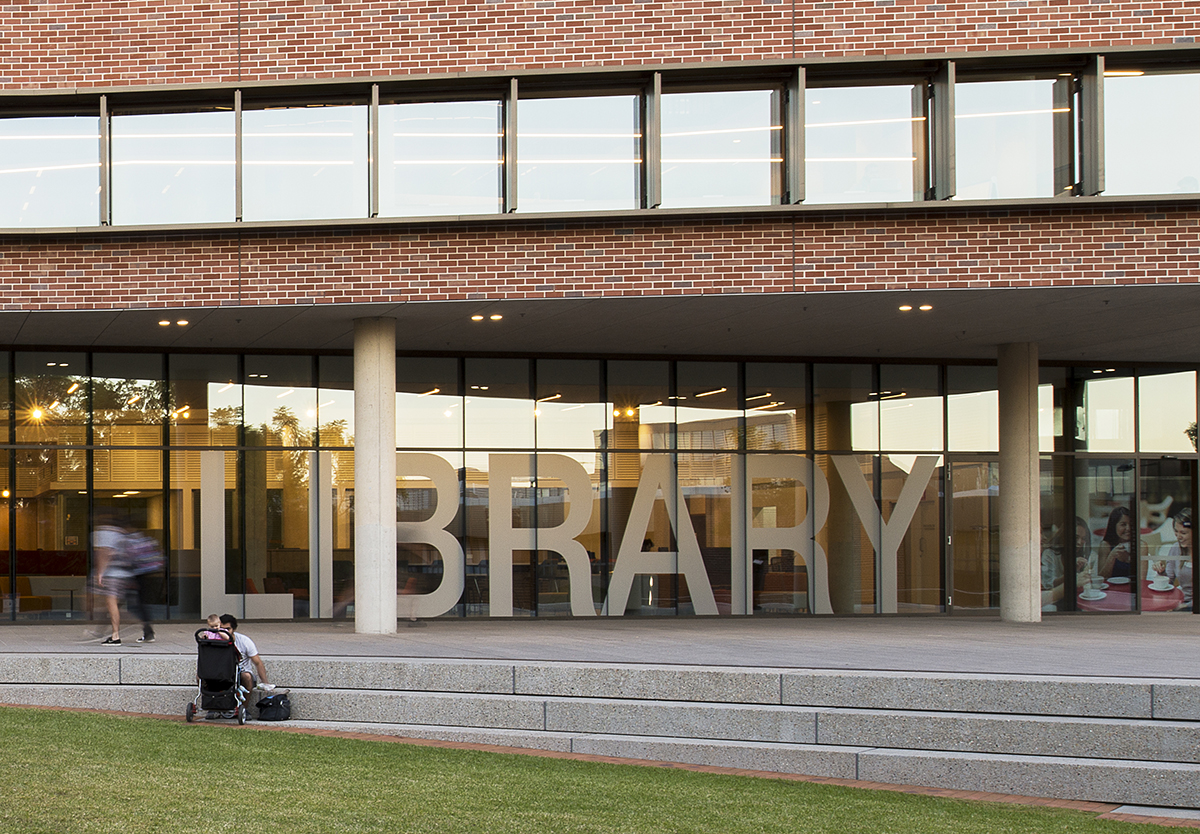 John Phillips Library WSU Signage
