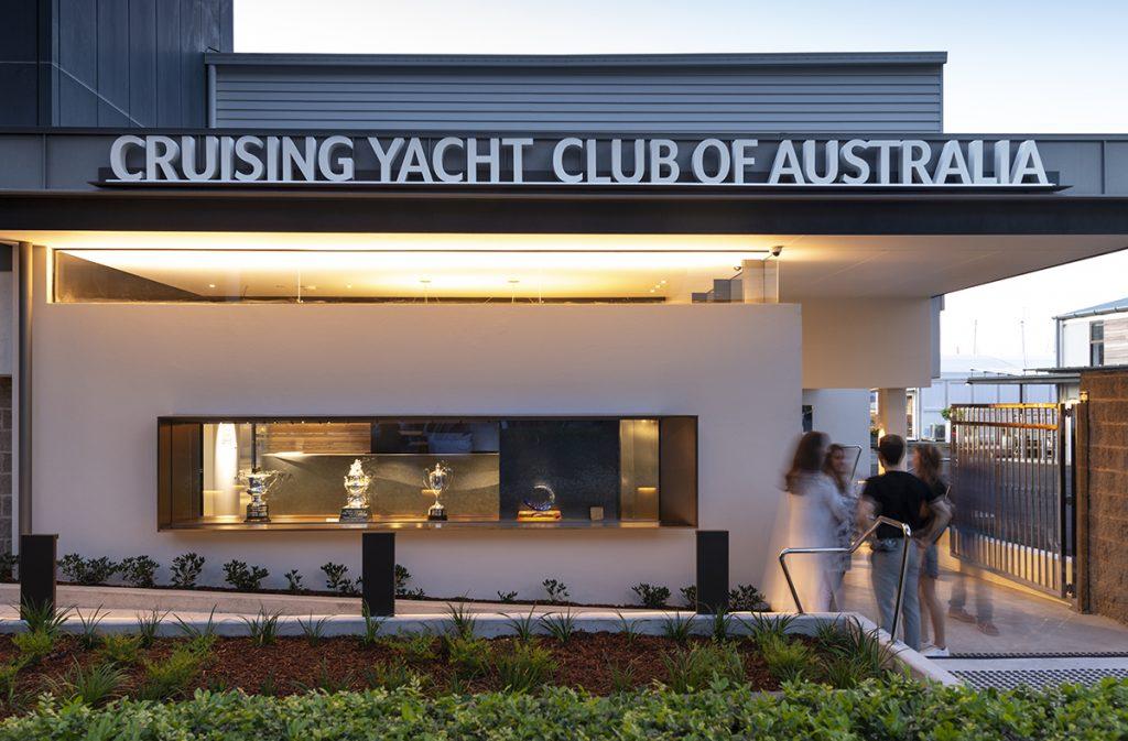 Cruising Yacht Club of Australia Signage
