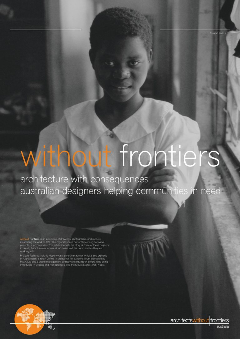 Architects Without Frontiers Exhibition - Panel 2