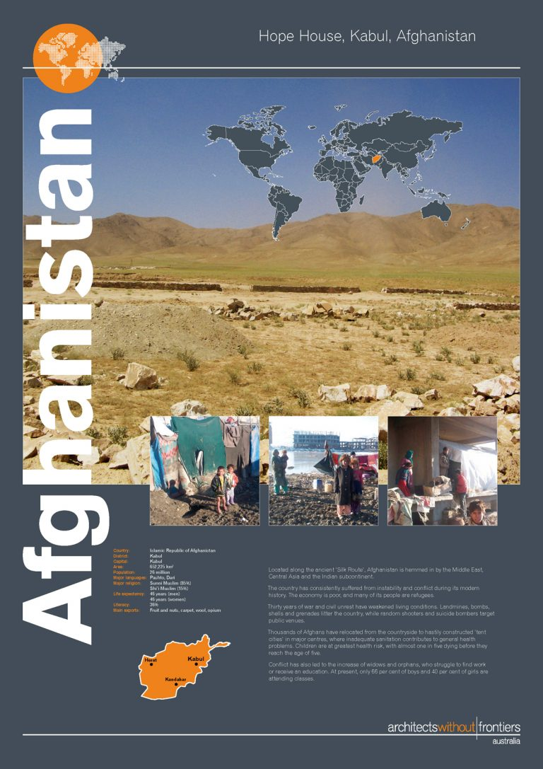 Architects Without Frontiers Exhibition -  Afghanistan_Page_1