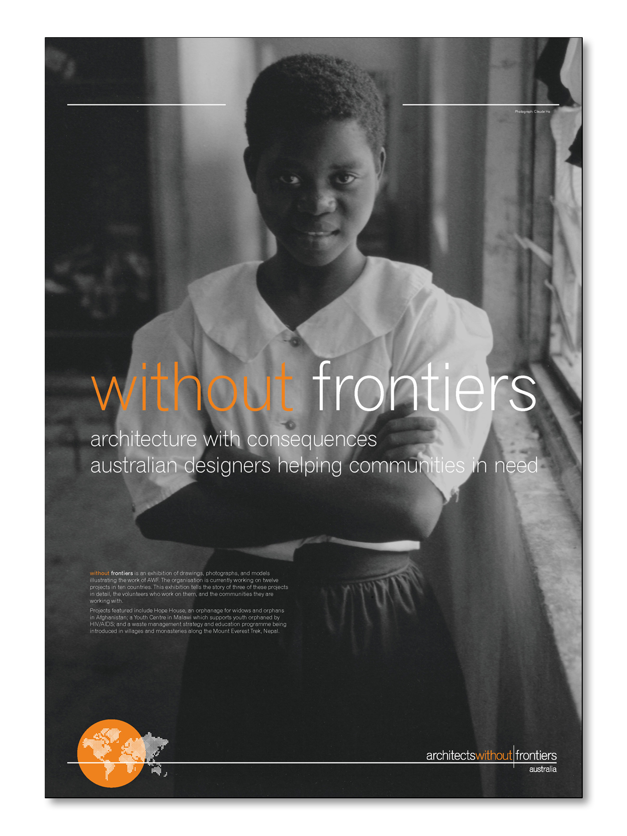 Without Frontiers Exhibition Poster