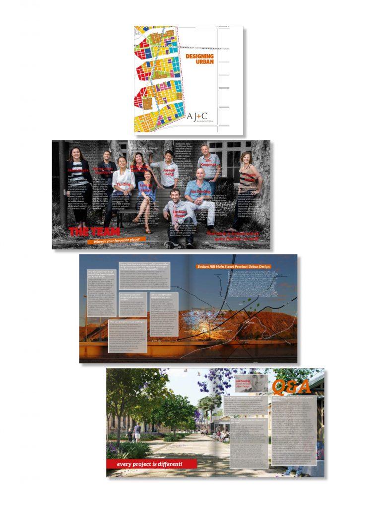 AJ+C Urban Design Brochure